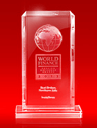Лучший брокер северной Азии по версии премии World Finance Awards 2013